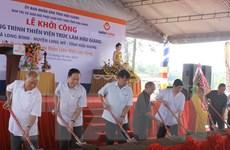 Khởi công xây Thiền viện Trúc Lâm Hậu Giang với kinh phí 210 tỷ đồng