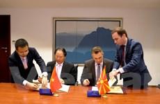 Việt Nam và Macedonia ký các hiệp định thúc đẩy thương mại