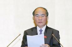 Phát biểu khai mạc kỳ họp 8 của Chủ tịch Quốc hội Nguyễn Sinh Hùng