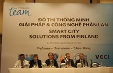 Việt Nam và Phần Lan hợp tác phát triển đô thị thông minh