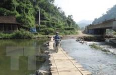 Thanh Hóa phấn đấu hoàn thành xây 22 cầu treo trước mưa bão