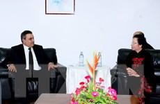 Phó Chủ tịch nước tiếp các lãnh đạo Mauritius, Tunisia, Haiti