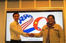 Trao giải thiết kế logo kỷ niệm 20 năm quan hệ Việt Nam-Hoa Kỳ