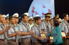 Gói lại chuyến thăm TP.HCM, những chiến sỹ hải quân lại về với biển