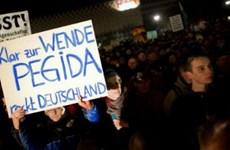 15.000 người tham gia phong trào mới PEGIDA biểu tình ở Đức