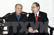 Chủ tịch Mặt trận thăm gia đình nguyên lãnh đạo Bộ Quốc phòng