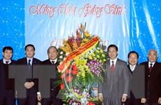 Phó Thủ tướng thăm Hội thánh Tin Lành, Tổng Giáo phận Hà Nội