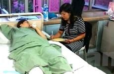 Ban liên lạc Cộng đồng giúp đỡ 1 phụ nữ Việt bị tai nạn tại Malaysia