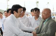 Chủ tịch nước mong muốn ngư dân tiếp tục vươn khơi, bám biển