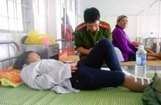 Lật xe công nông ở tỉnh Gia Lai làm 11 người thương vong