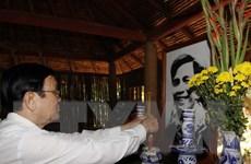 Chủ tịch nước thăm, chúc Tết tại tỉnh Tây Ninh, Bình Dương