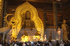 Ninh Bình: Phó Thủ tướng đánh trống khai hội chùa Bái Đính