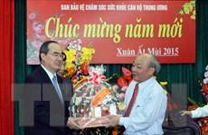 Ông Nguyễn Thiện Nhân chúc mừng Ban Bảo vệ-chăm sóc sức khỏe TW
