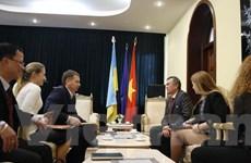 Nghị sỹ Ukraine ủng hộ thúc đẩy quan hệ hợp tác với Việt Nam