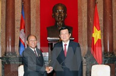 Chủ tịch nước tiếp Chủ tịch Quốc hội Vương quốc Campuchia