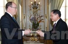 Việt Nam coi trọng phát triển quan hệ nhiều mặt với Monaco