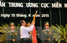 Ban Tuyên huấn TW Cục miền Nam đón nhận danh hiệu Anh hùng