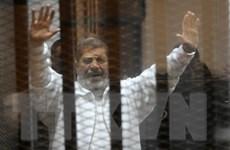 Cựu Tổng thống Ai Cập Mohamed Morsi lĩnh án tù 20 năm