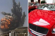 Hứa thưởng xe Bentley cho phi công tham gia không kích Yemen