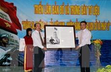 Triển lãm bản đồ và tư liệu Hoàng Sa, Trường Sa ở Phú Quý