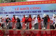 Tỉnh Tiền Giang tổ chức míttinh kỷ niệm 40 năm giải phóng