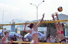 Khai mạc Giải bóng chuyền bãi biển nữ châu Á, Tuần Châu-Hạ Long 2015