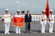 Lễ kỷ niệm 60 năm thành lập Hải quân Nhân dân Việt Nam