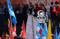 Italy: Giáo viên và học sinh biểu tình phản đối cải cách giáo dục