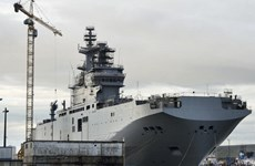 Trung Quốc có thể sở hữu tàu chiến Mistral đóng cho Nga