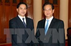 Thủ tướng Nguyễn Tấn Dũng tiếp Tỉnh trưởng tỉnh Vân Nam