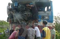 Tai nạn đường sắt nghiêm trọng ở Đồng Nai, lái tàu bị thương nặng