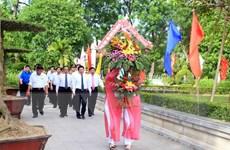 Nghệ An tổ chức Lễ dâng hương tại Khu di tích Kim Liên
