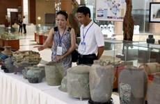 Phát hiện nhiều dấu tích kiến trúc, di vật cổ ở Thành nhà Hồ