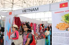Sản phẩm văn hóa, ẩm thực Việt được yêu thích tại hội chợ Mexico