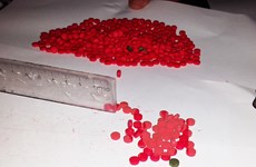 Bắt 2 đối tượng mua bán, vận chuyển 6.000 viên ma túy
