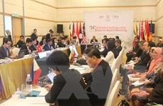Quan chức cấp cao ASEAN họp về các vấn đề khu vực quan trọng