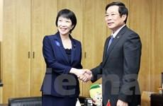 Việt Nam-Nhật Bản siết chặt hợp tác bưu chính, viễn thông và ICT