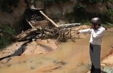 Doanh nghiệp bị phạt 400 triệu đồng vì gây sự cố môi trường