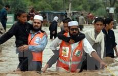 Mưa lớn gây lũ lụt tại Pakistan làm hơn 80 người thiệt mạng