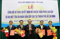 Ra mắt Tòa án nhân dân Cấp cao tại Thành phố Hồ Chí Minh