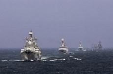 Nga và Trung Quốc tiến hành tập trận chung ở vùng Biển Nhật Bản