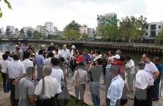 Khai trương tuyến du lịch đường thủy nội đô Nhiêu Lộc-Thị Nghè