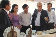 Trưng bày cổ vật từ tàu đắm ở vùng biển Quảng Nam, Quảng Ngãi