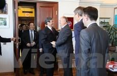 Đoàn Đại biểu Đảng Cộng sản Việt Nam thăm và làm việc tại Nga