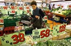 Chỉ số giá tiêu dùng của Nhật lần đầu giảm kể từ năm 2013