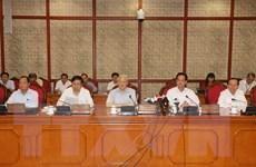 Bộ Chính trị cho ý kiến về công tác chuẩn bị Đại hội Đảng bộ Hà Nội