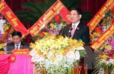 Ông Hồ Đức Phớc tái đắc cử làm Bí thư Tỉnh ủy tỉnh Nghệ An