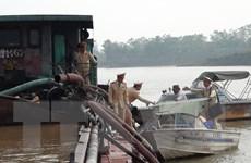 Bắc Ninh ngăn chặn nạn khai thác cát sỏi trái phép trên sông