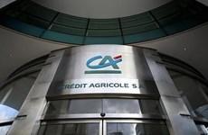 Credit Agricole của Pháp bị phạt vì giao dịch bất hợp pháp