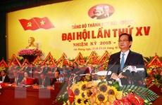 Thủ tướng Nguyễn Tấn Dũng dự Đại hội Đảng thành phố Hải Phòng